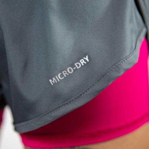 "4"" Run Micro-dry Pink"